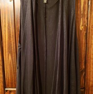 Worthington black armless cover size xl